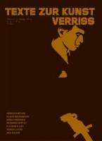 """Texte Zur Kunst 45 / March 2002 """"Verriss"""""""