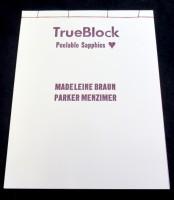 TrueBlock 2nd edition - Peelable Sapphics - Ugly Duckling Presse