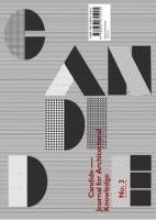 Candide - Journal for Architectural Knowledge #3