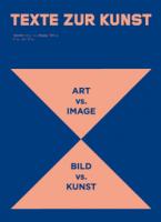 """Texte Zur Kunst No. 95 / September 2014 """"Art vs. Image"""""""