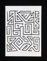 Yona Friedman Collage 5e (fond blanc)