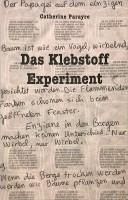 Das Klebstoff Experiment